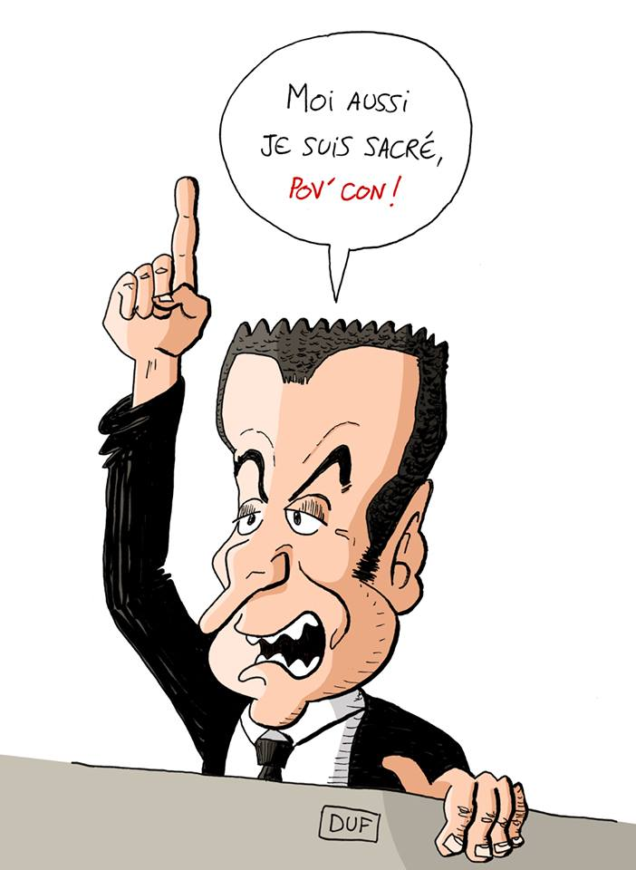 dessin d'actualité humoristique sur la contestation de la décision de la Cour d'Appel par Nicolas Sarkozy dans l'affaire Bygmalion