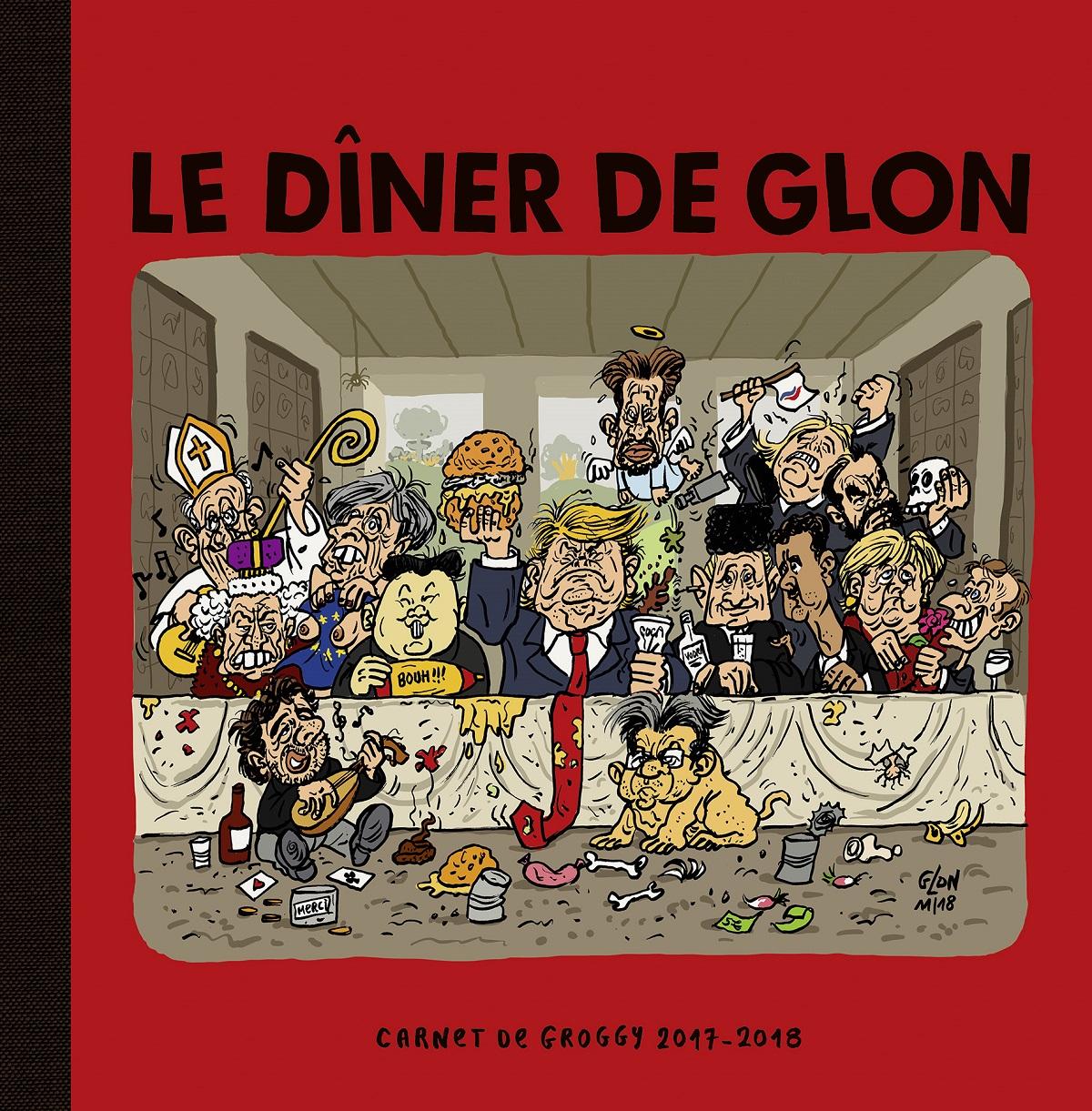 Deuxième recueil de dessins d'actualité humoristique de François Glon
