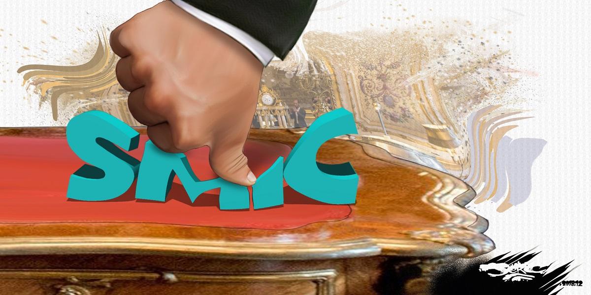 dessin d'actualité humoristique sur le coup de pouce au SMIC