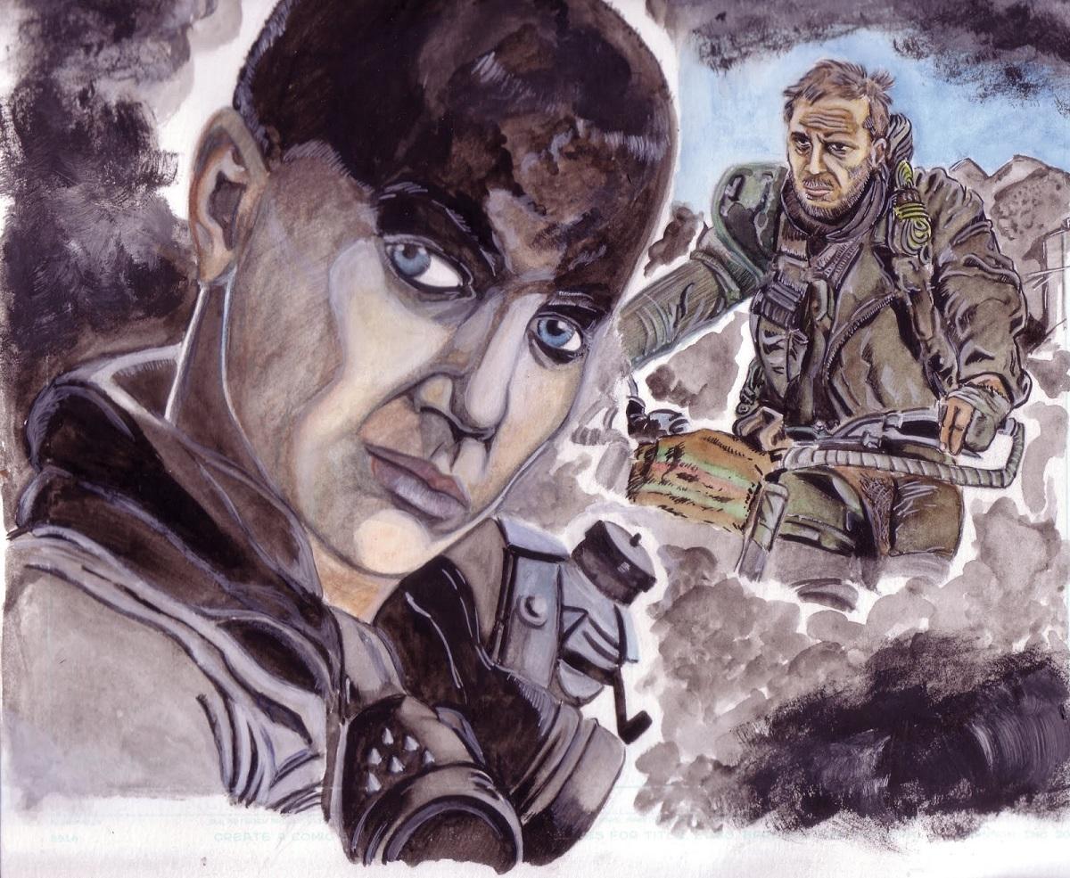 Poster de Mad Max Fury Road par Zaïtchick