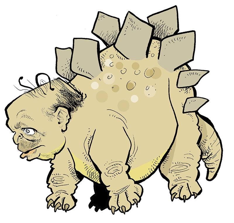 dessin d'actualité humoristique sur Abdelaziz Bouteflika