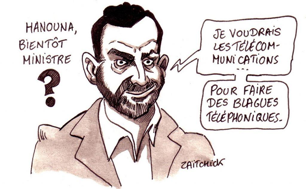 dessin d'actualité humoristique sur Cyril Hanouna