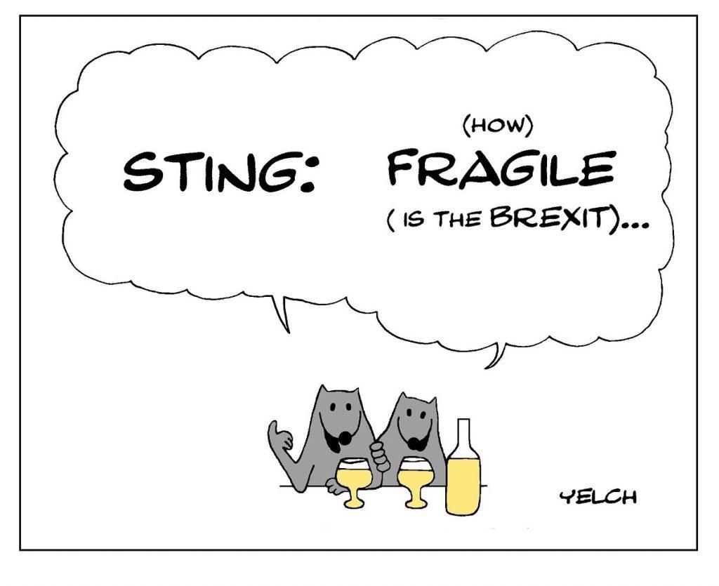 dessin de Yelch sur Sting et le Brexit