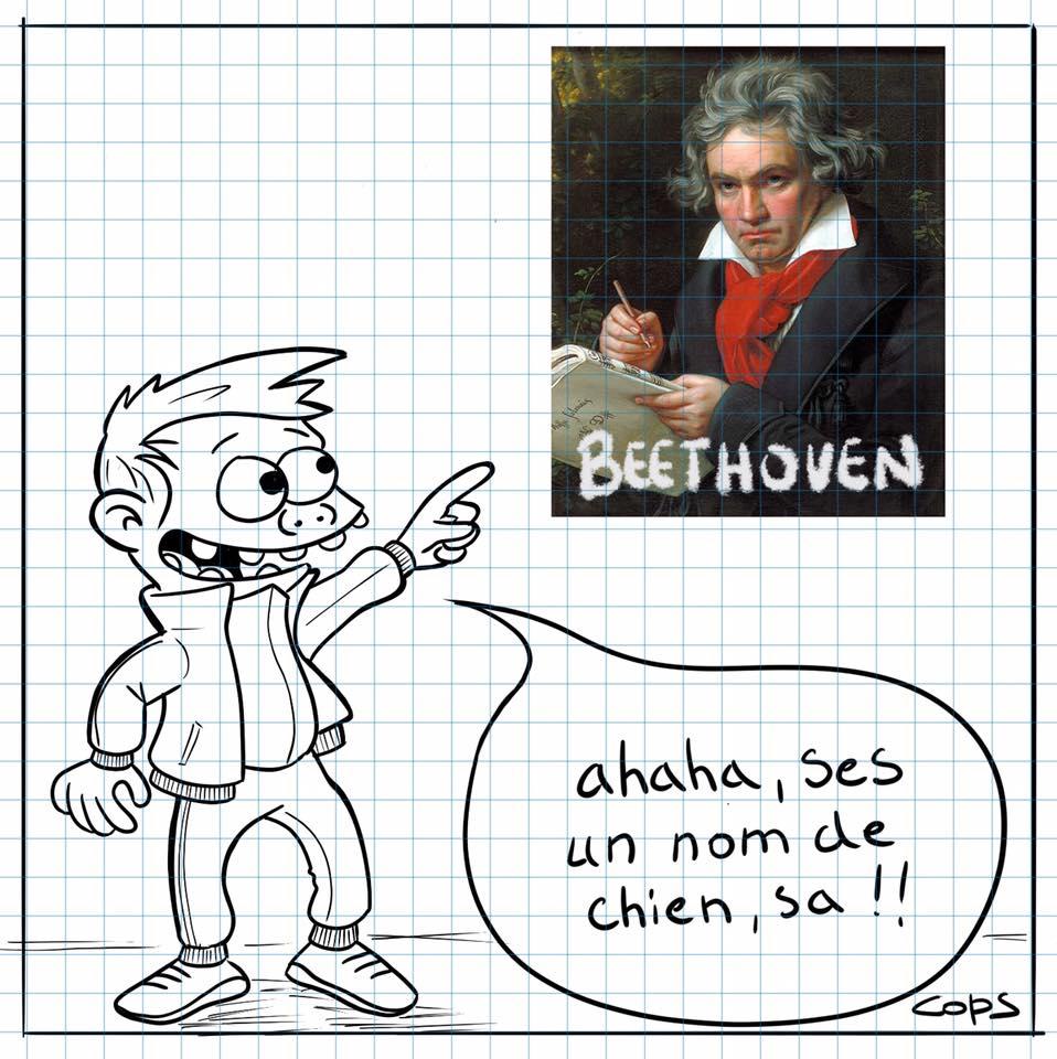Cédric Sionnaire et Beethoven