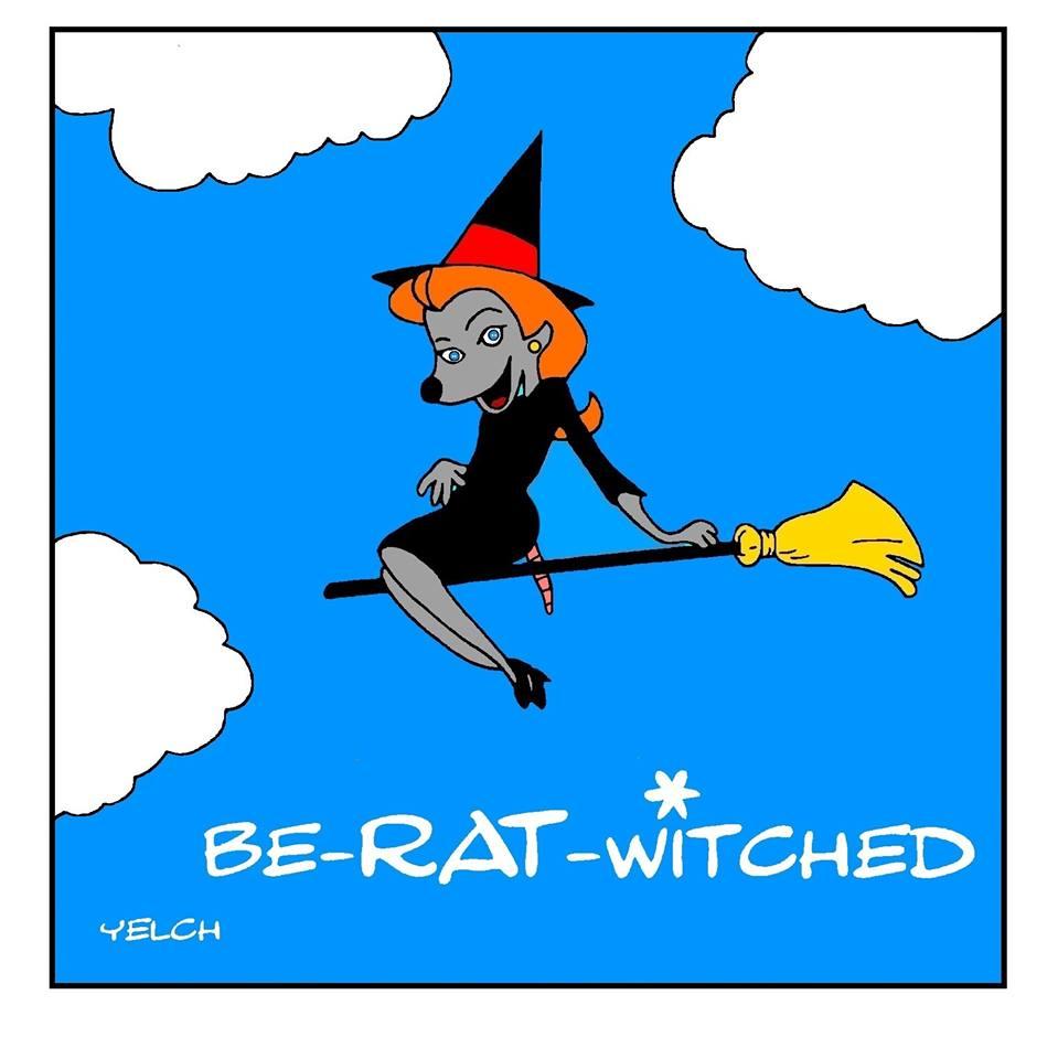 dessin de Yelch sur Ma sorcière bien-aimée