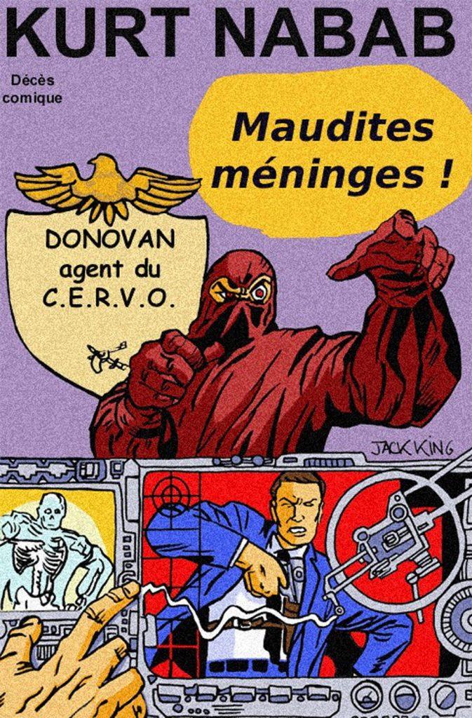 Fausse couverture de comics réalisée par Zaïtchick