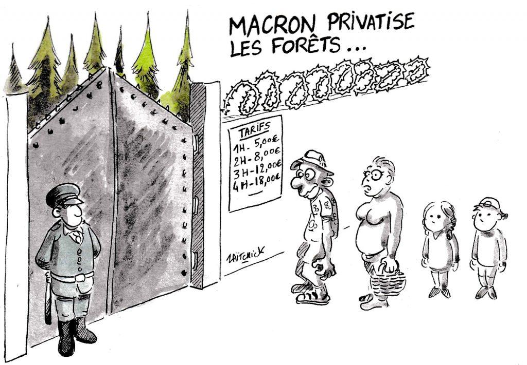 dessin d'actualité humoristique sur l'espérance de retour en politique de François Hollande