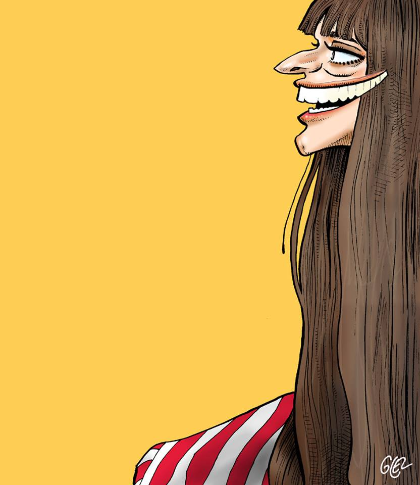 portrait humoristique de Clara Luciani
