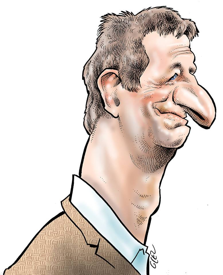 portrait humoristique de Yannick Jadot