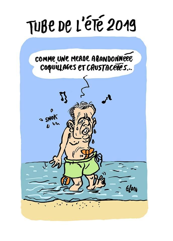 dessin d'actualité humoristique sur la démission de François de Rugy suite au scandale de ses dîners
