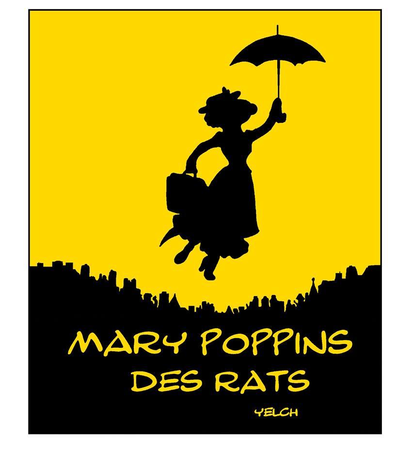 dessin de Yelch sur Mary Poppins
