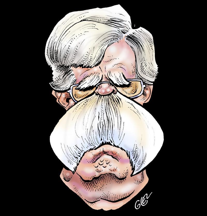 dessin humoristique de Glez sur le limogeage de John Bolton par Donald Trump