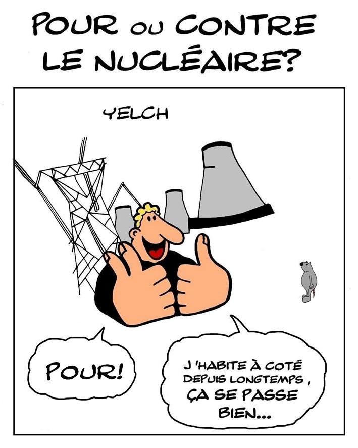 dessin de Yelch sur le nucléaire