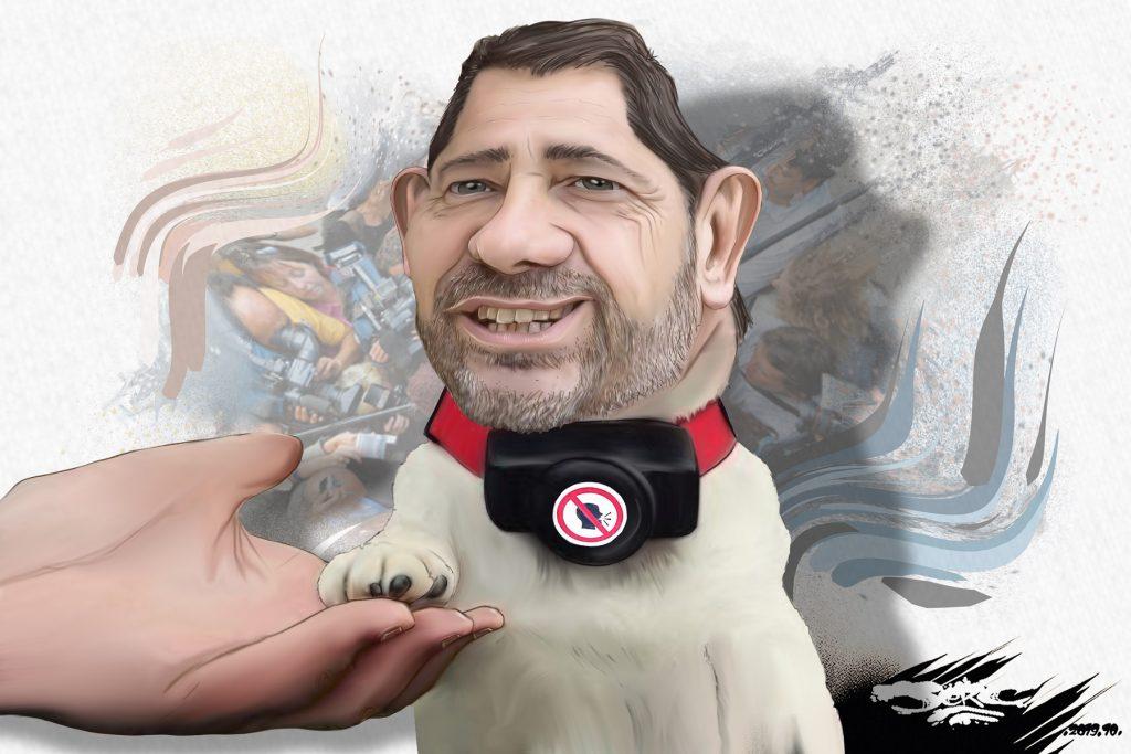 dessin d'actualité humoristique de Jerc sur Christophe Castaner