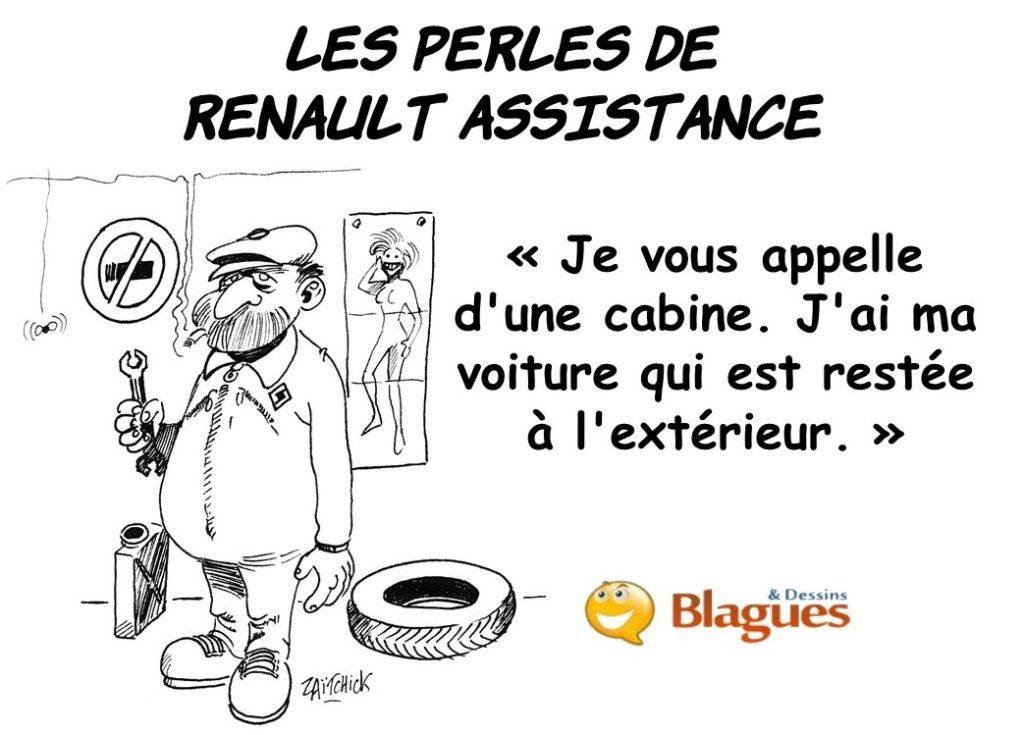 les perles des entreprises, les perles de Renault Assistance