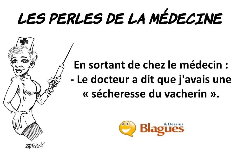 les perles de la médecine