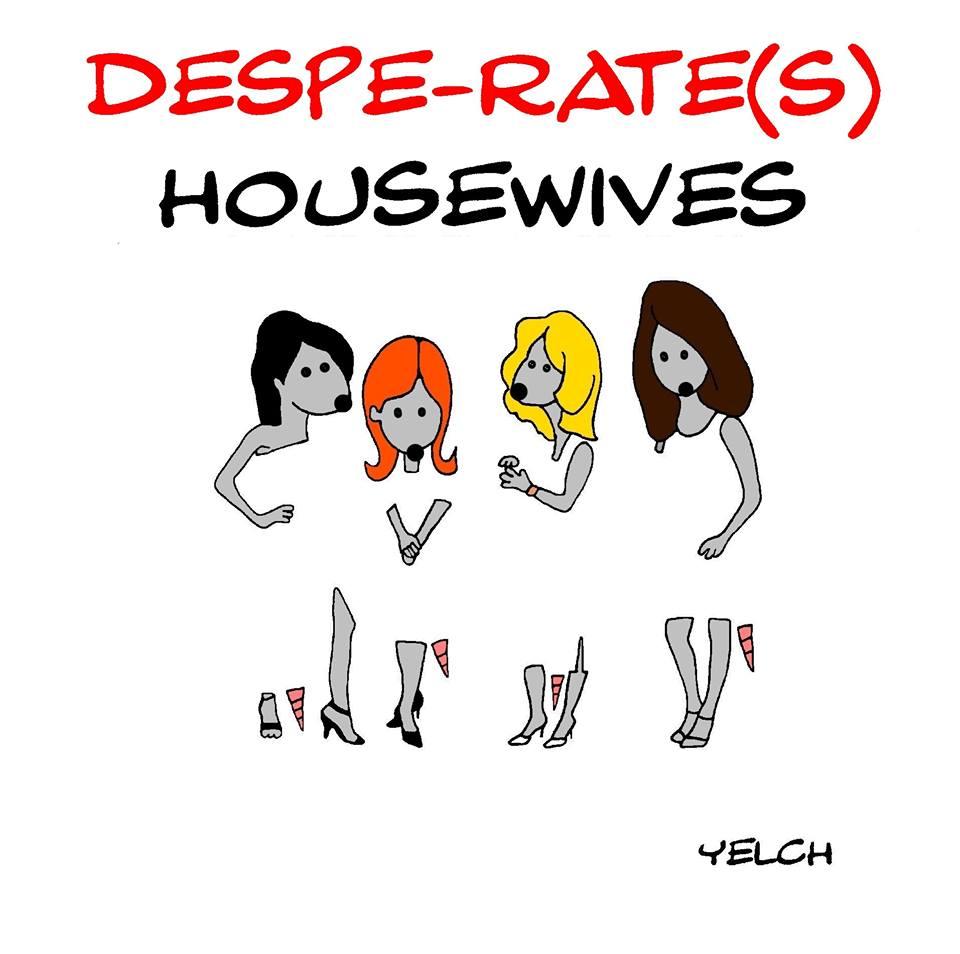 dessin de Yelch sur les Desperate Housewives