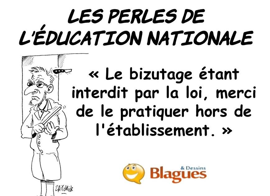 les perles de l'Éducation Nationale