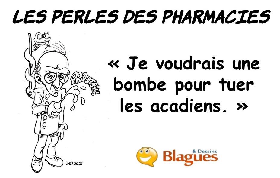 les perles à la pharmacie