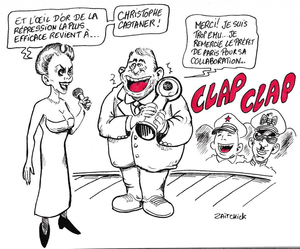 dessin humoristique de Glon sur Valéry Giscard d'Estaing force de proposition