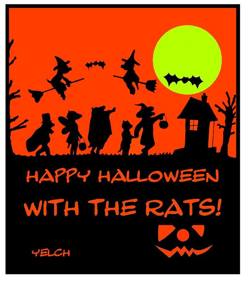 dessin de Yelch sur Halloween