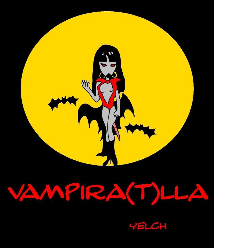 dessin de Yelch sur Vampirella