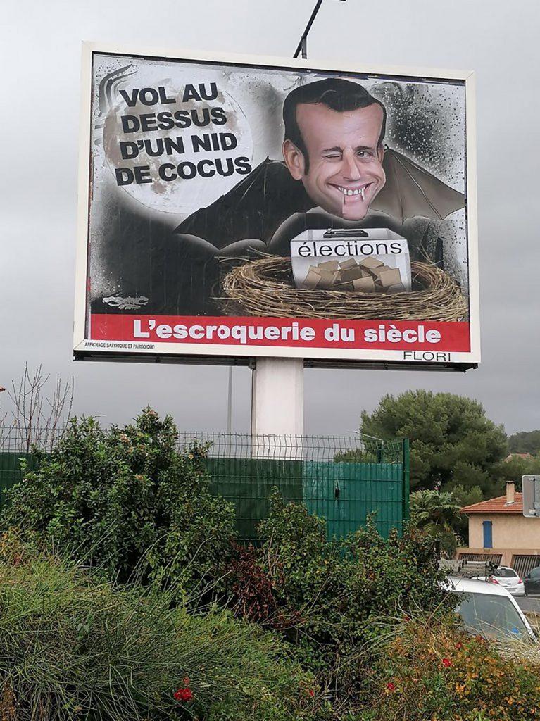 dessin d'actualité humoristique de Jerc sur le rejet d'Emmanuel Macron