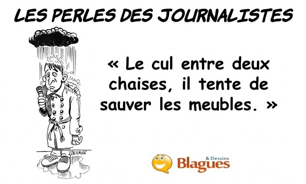 les perles des journalistes
