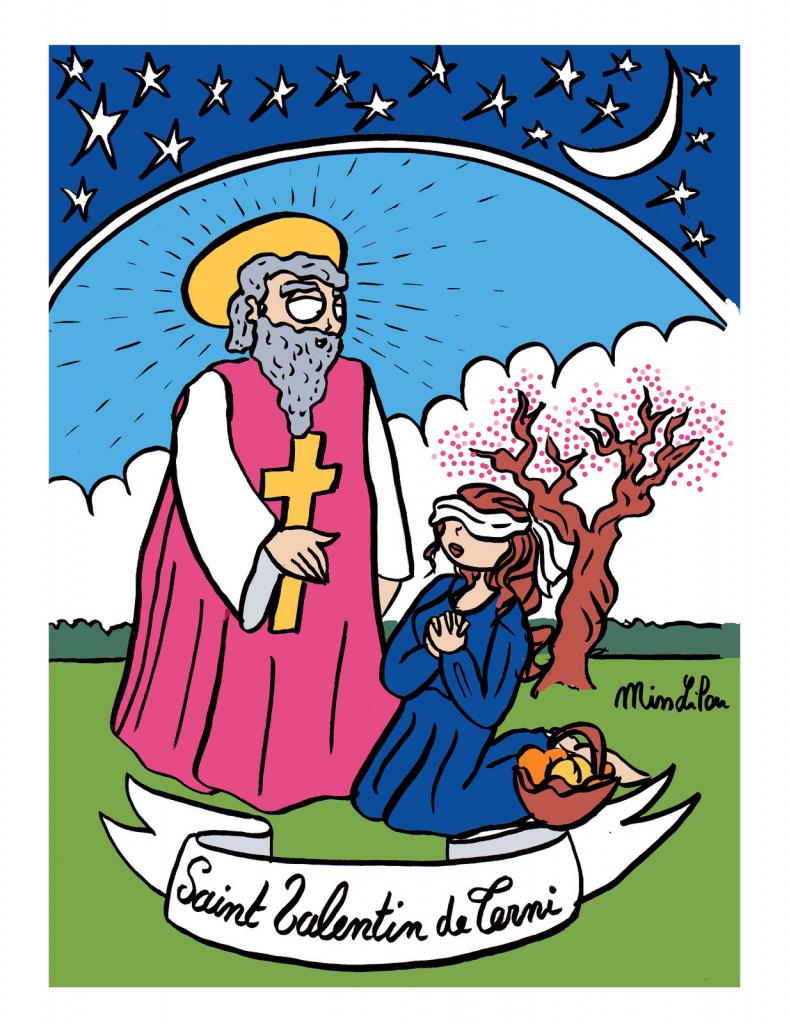 dessin de Miss Lilou sur Saint Valentin de Terni