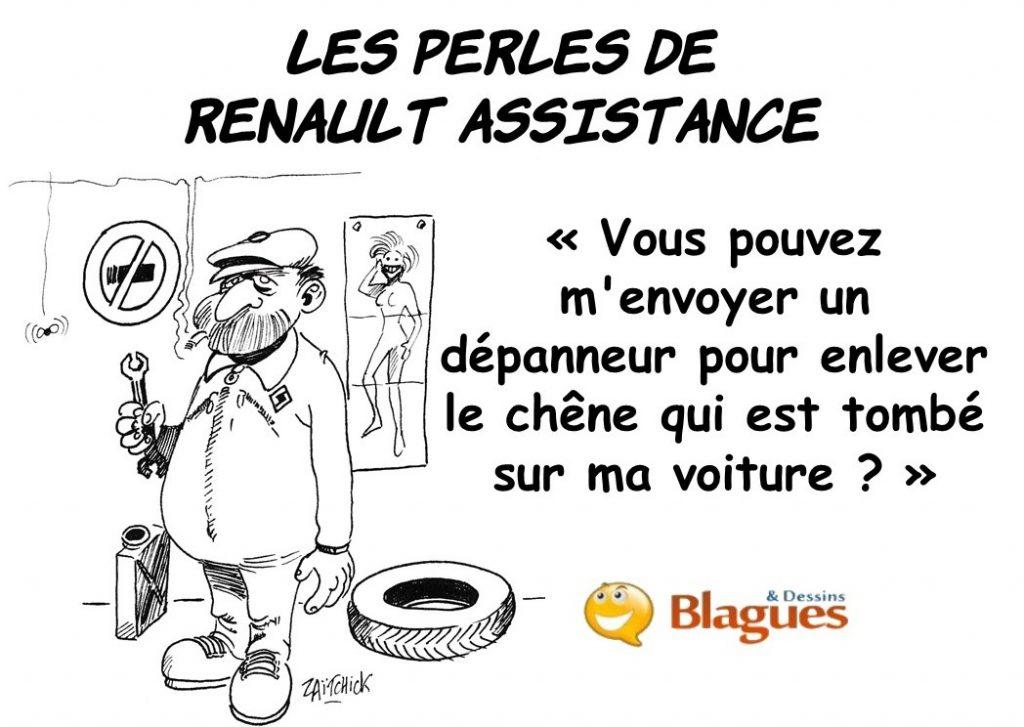 les perles de Renault Assistance, les perles des accidents