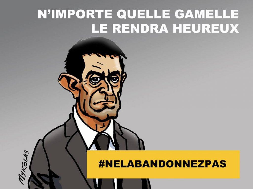 dessin d'actualité humoristique de Mykolas sur l'éventuel retour de Manuel Valls et l'annonce d'Édouard Philippe sur l'emploi de l'article 49.3 pour la réforme des retraites