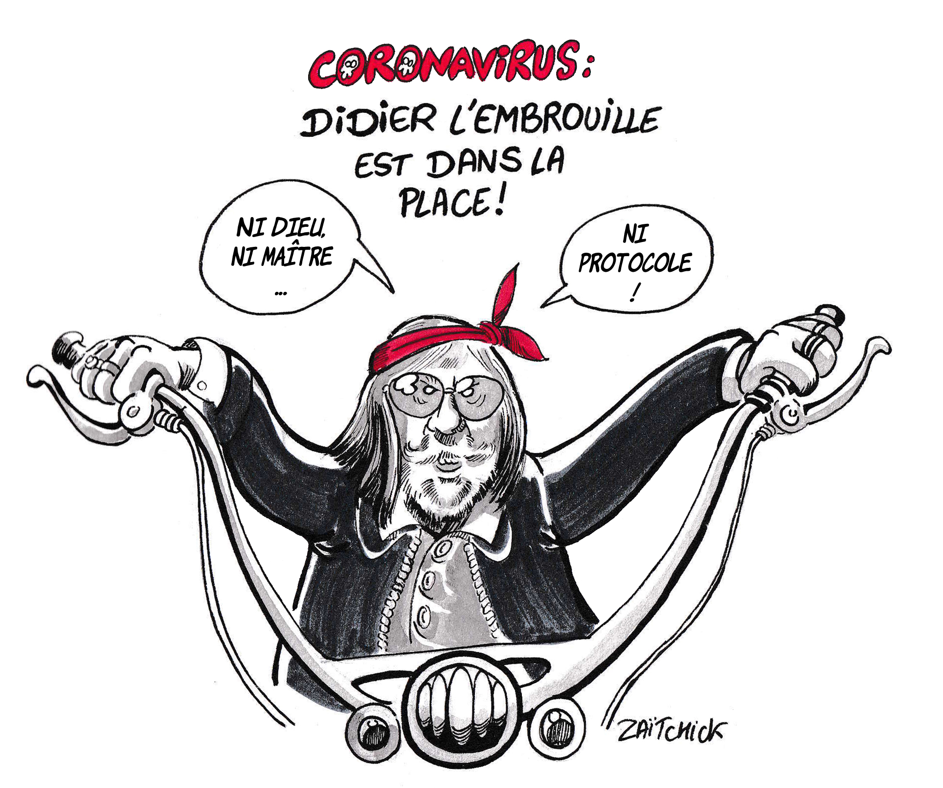 blague médicament contre le coronavirus – Blagues et Dessins