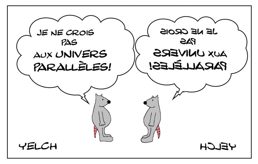 dessin de Yelch dessin de Yelch sur les univers parallèles