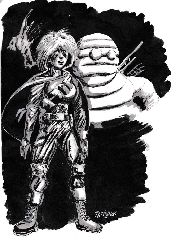 dessin de Zaïtchick sur l'épidémie de coronavirus et le décès de Juan Gimenez