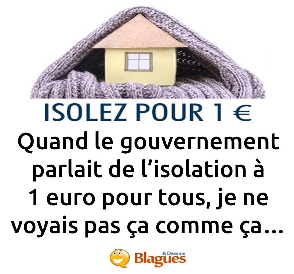 blague confinement