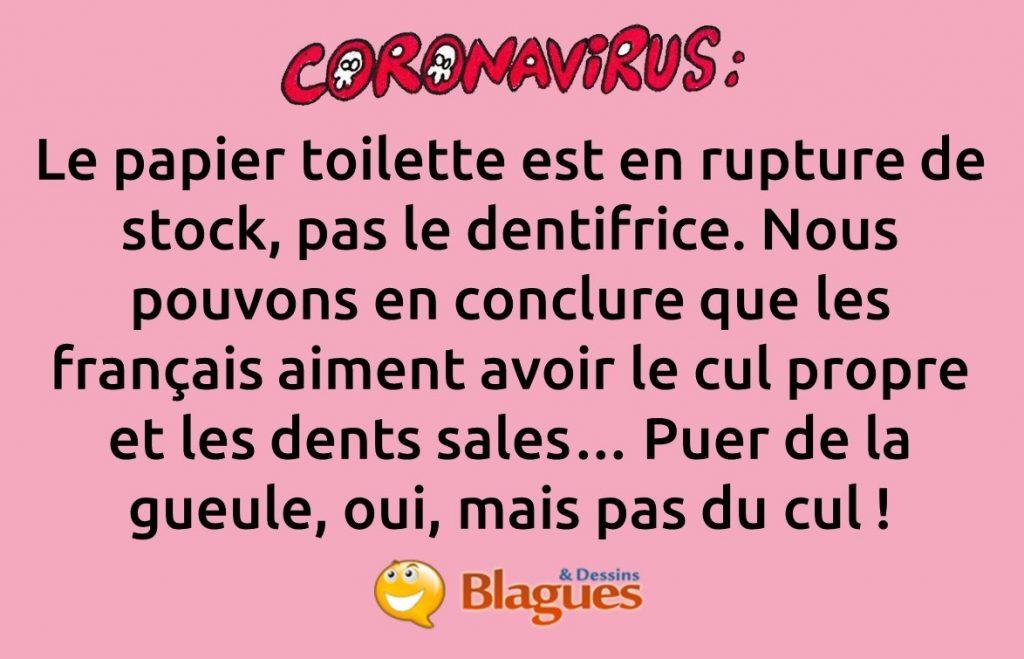 blague coronavirus, blague Covid-19, blague SARS-CoV-2, blague confinement