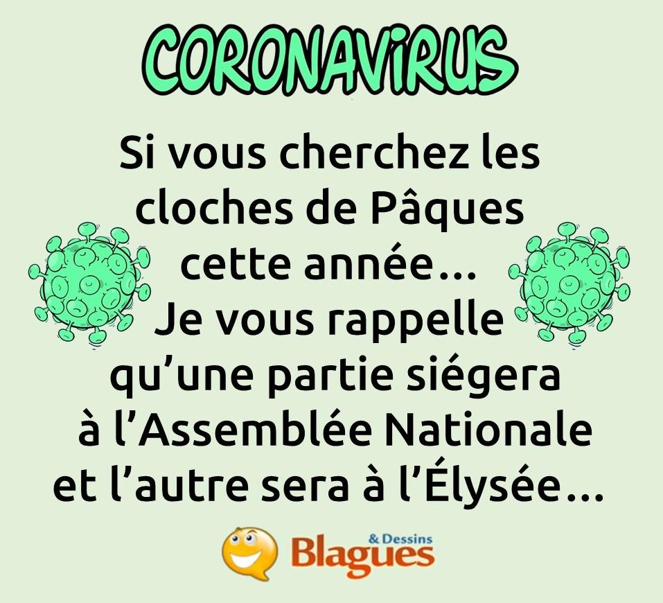blague sur le coronavirus