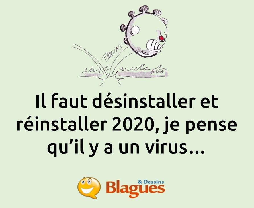 blague coronavirus, blague SARS-CoV-2, blague Covid-19, blague confinement