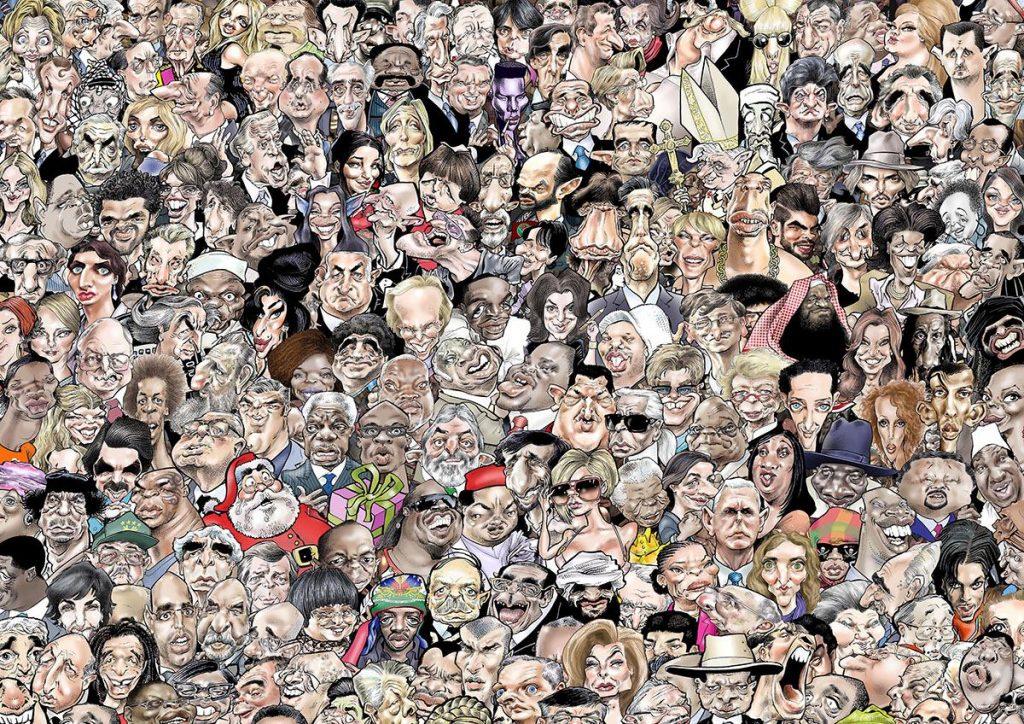 dessin humoristique de Glez sur l'épidémie de Covid-19 et la distanciation sociale