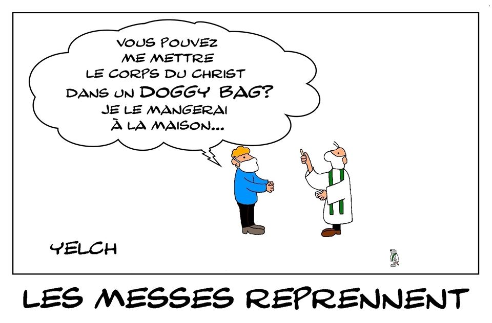 blague messe – Blagues et Dessins