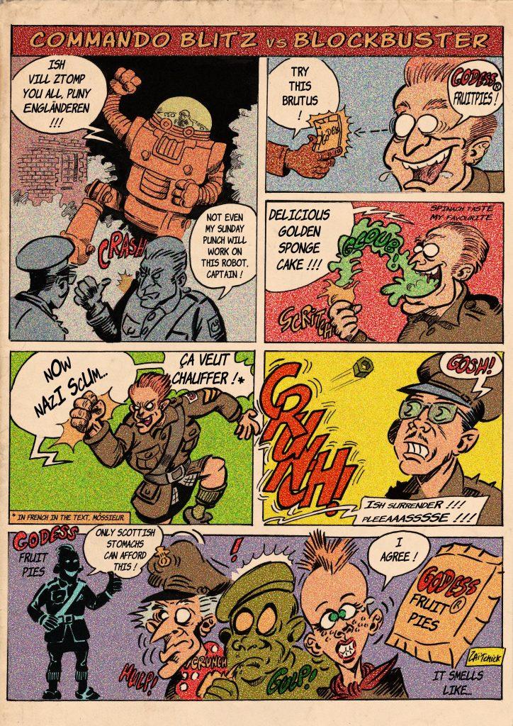 Commando Blitz - Intermède publicitaire