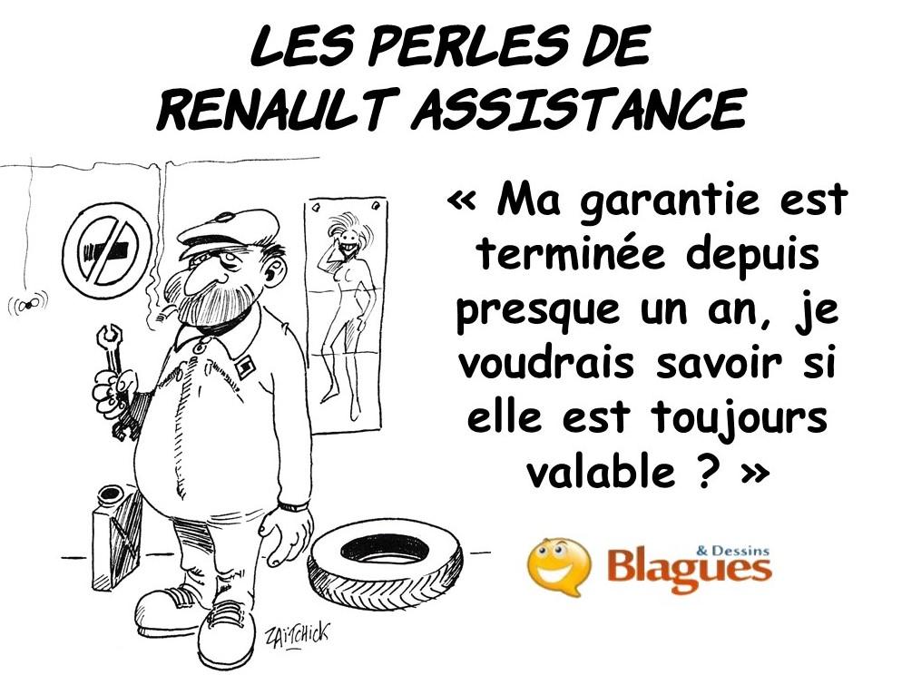 les perles de Renault Assistance, les perles automobiles, les perles du dépannage