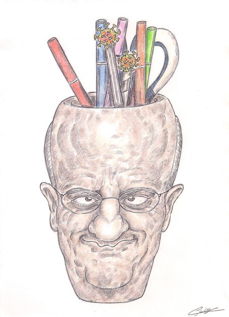 dessin d'actualité de Galy sur le déconfinement et la rentrée scolaire de Jean-Michel Blanquer