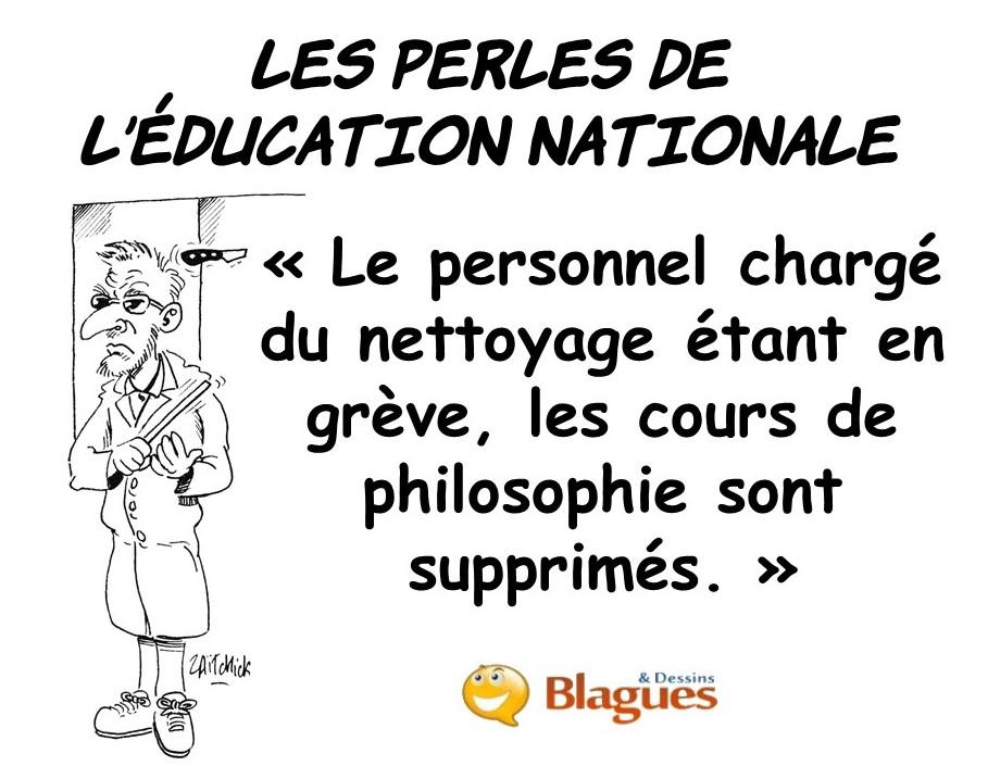 les perles de l'Éducation Nationale, les perles de l'école