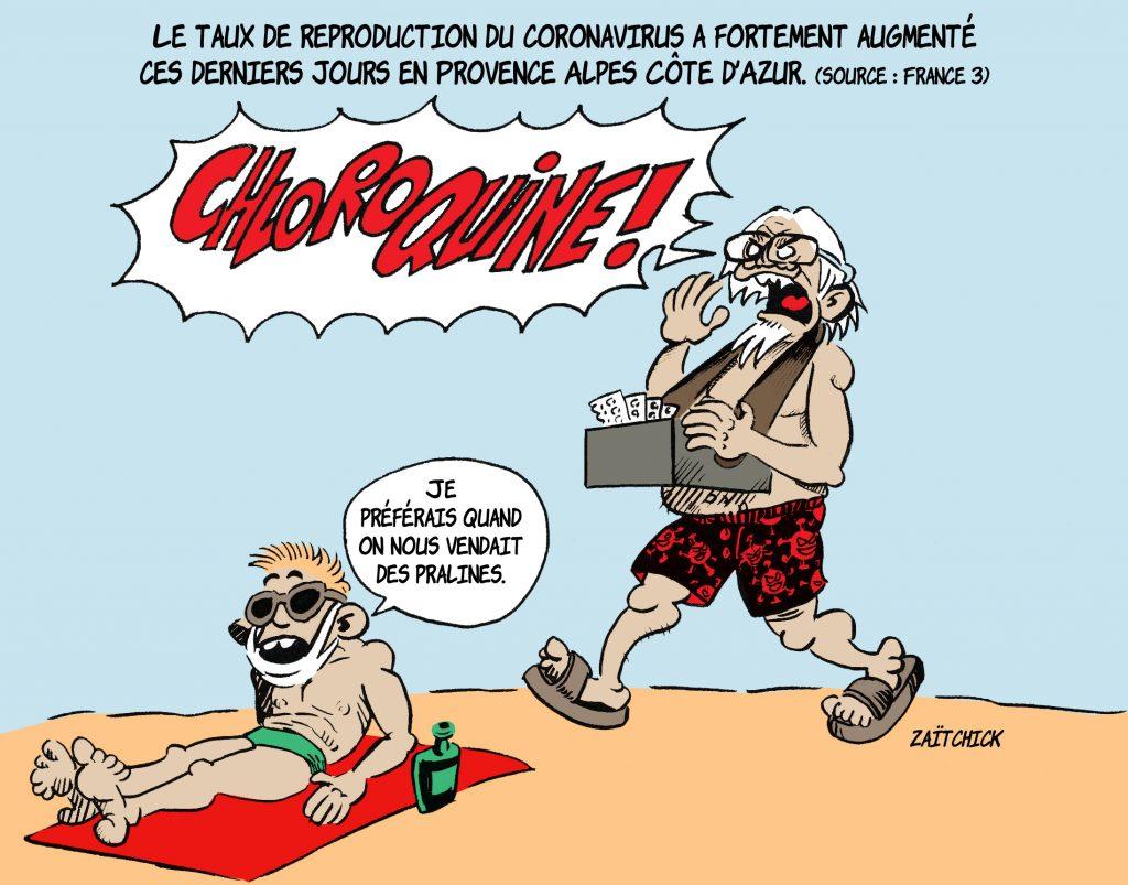 image drôle dessin humour français didier raoult professeur coronavirus covid-19