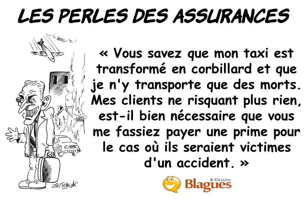 les perles des assurances, les perles des assureurs