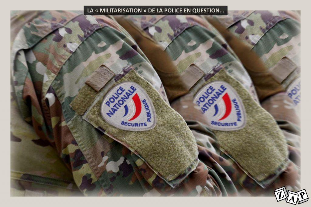 dessin humour image drôle police militaires armée militarisation