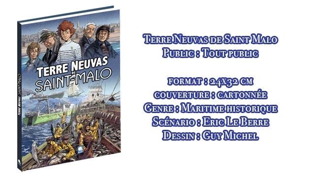 Terre-Neuvas de Saint-Malo, bande dessinée de Guy Michel et Éric Le Berre
