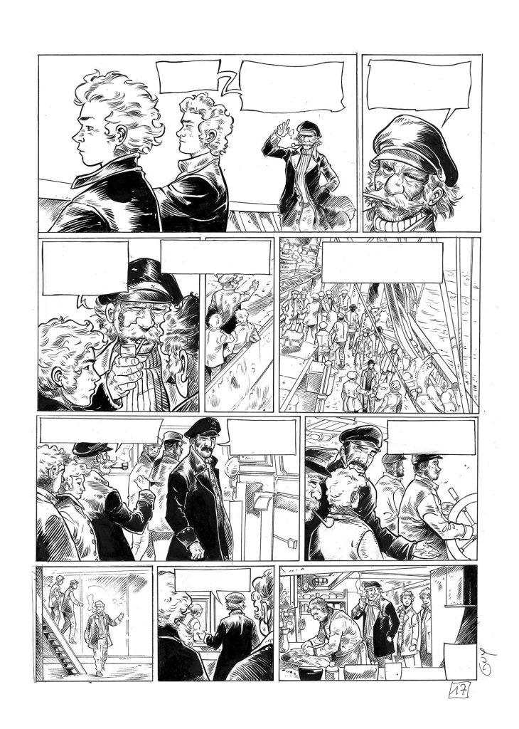 Terre-Neuvas de Saint-Malo, bande dessinée de Guy Michel et Éric Le Berre, l'histoire des marins pêcheurs malouins sur les bancs de Terre-Neuve
