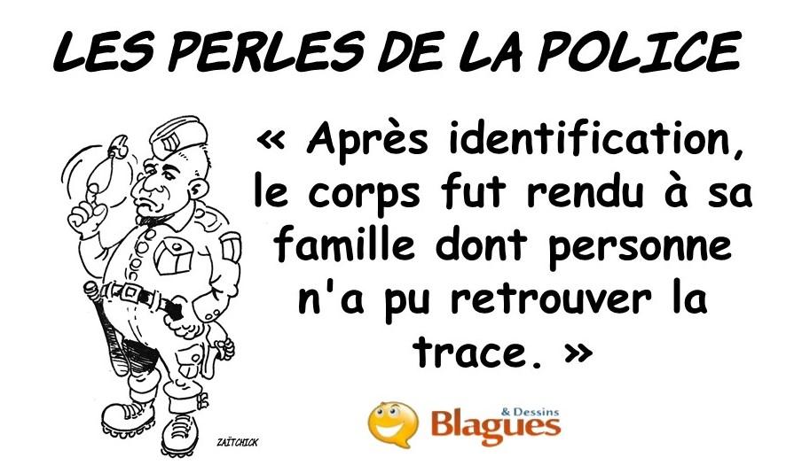 les perles de la police, les perles de la justice